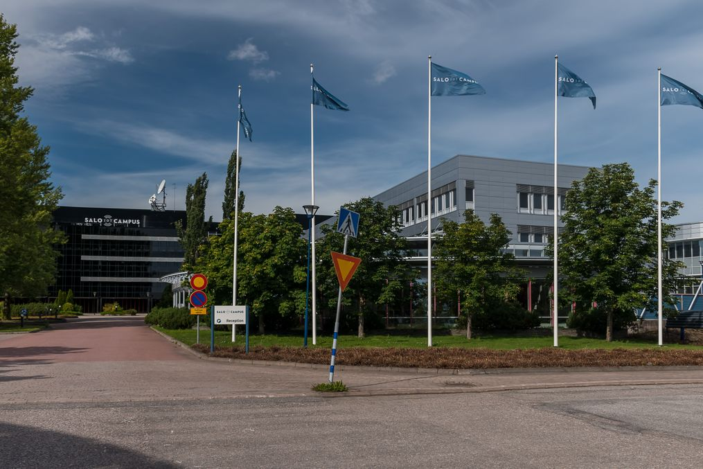 Former Nokia facilities in Salo (2019)